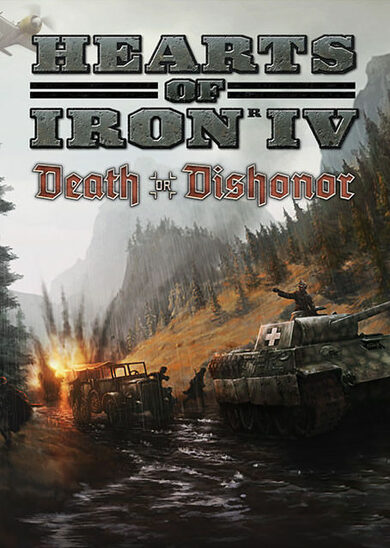 Hearts of Iron IV: Death or Dishonor (DLC) Uncut Steam Key GLOBAL фото