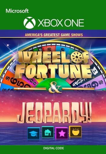 America's Greatest Game Shows: Wheel of Fortune & Jeopardy! XBOX LIVE Key UNITED STATES