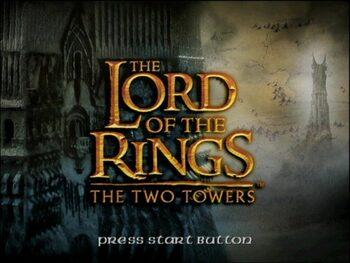 The Lord of the Rings: The Two Towers (El Señor de los Anillos: Las dos Torres) PlayStation 2