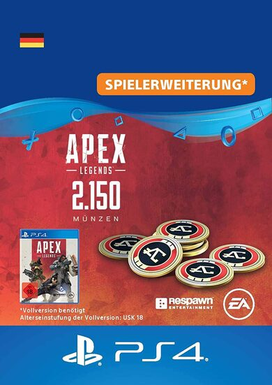 Apex Legends 2150 Apex Coins (PS4) PSN Key GERMANY