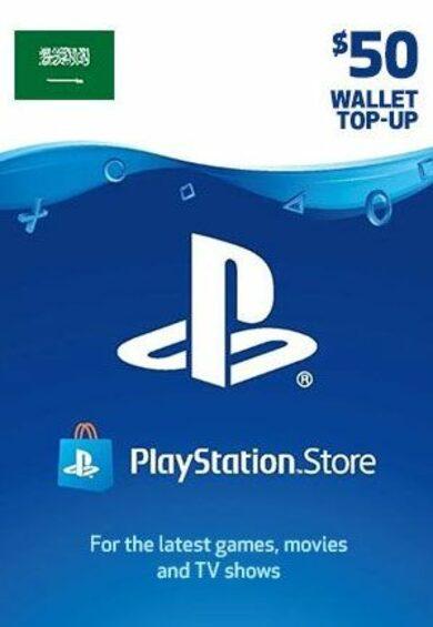 PlayStation Network Card 50 USD (KSA) PSN Key SAUDI ARABIA