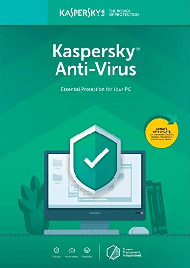 Kaspersky Anti-Virus 2019 - 3 Device - 1 Year Kaspersky Key EUROPE