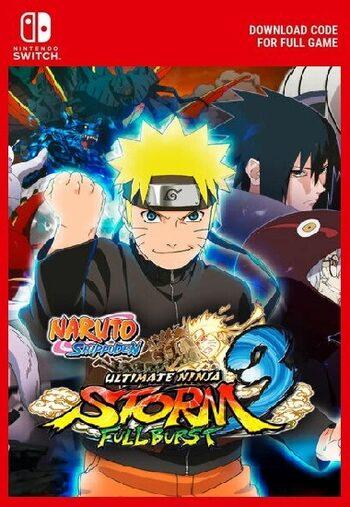 Naruto Shippuden: Ultimate Ninja Storm 3 Full Burst (Nintendo Switch) eShop Key EUROPE