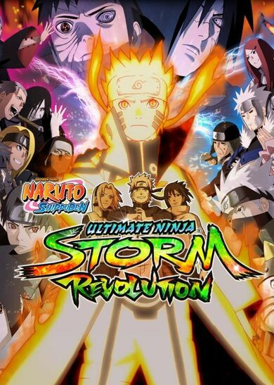 Naruto Shippuden: Ultimate Ninja Storm Revolution Steam Key EUROPE