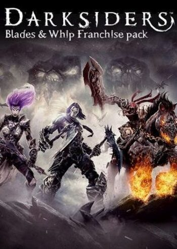 Darksiders Blades & Whip Franchise Pack Steam Steam Key GLOBAL