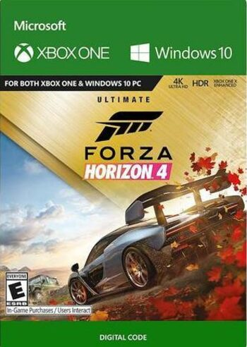 Forza Horizon 4: Ultimate Edition (PC/Xbox One) Xbox Live Key UNITED STATES