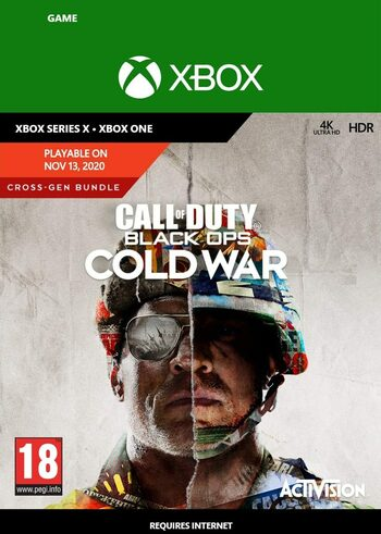 Call of Duty: Black Ops Cold War - Cross-Gen Bundle (Xbox One) Xbox Live Klucz GLOBAL