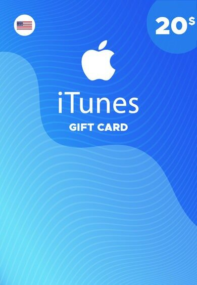 Apple iTunes Gift Card 20 USD iTunes (USA) ESTADOS UNIDOS ¡MÁS BARATO!