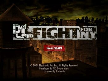 Def Jam: Fight for NY Xbox