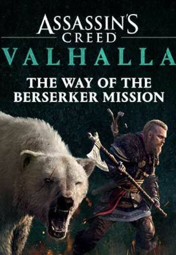 Assassin's Creed Valhalla - The Way of the Berserker (DLC) (PS4/PS5/XBOX ONE/XBOX SERIES X/ PC)  Official Website Key GLOBAL