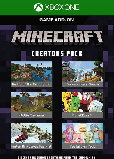 Minecraft: Creators Pack (DLC) (Xbox One) Xbox One Key GLOBAL