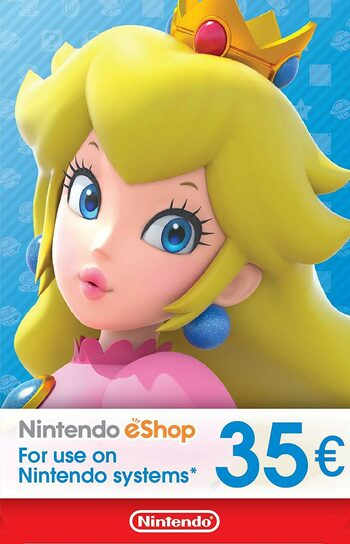 Nintendo eShop Card 35 EUR Key EUROPE