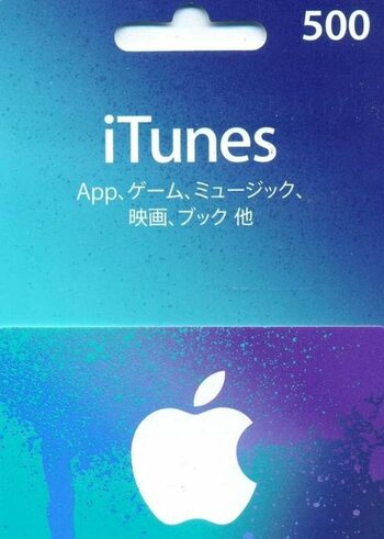 Apple iTunes Gift Card 500 JPY iTunes Key JAPAN