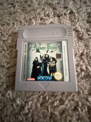 The Addams Family Game Boy