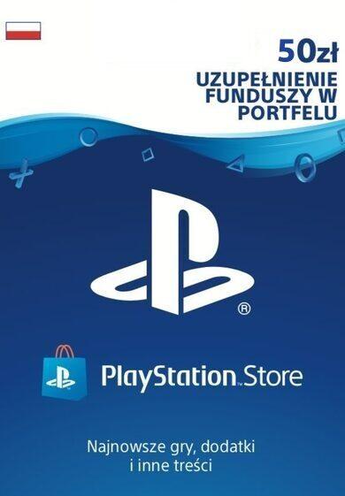 PlayStation Network Card 50 PLN PSN Klucz POLAND