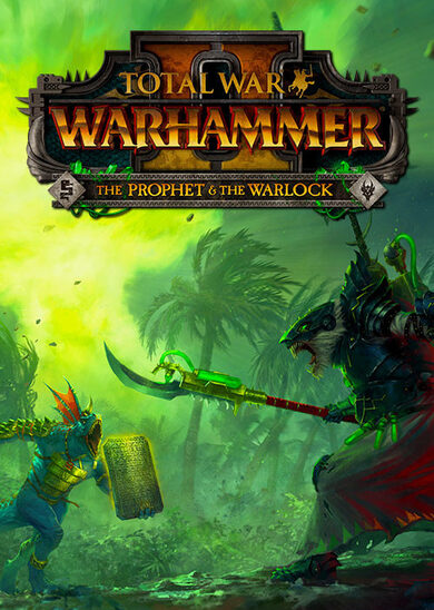 Total War: Warhammer II - The Prophet & The Warlock (DLC) Steam Key EUROPE