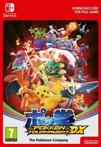 Pokken Tournament DX (Nintendo Switch) eShop Key UNITED STATES