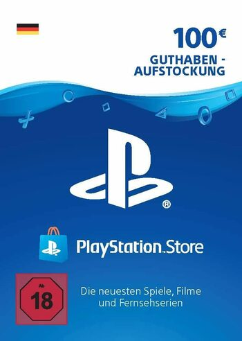 PlayStation Network Card 100 EUR (DE) PSN Key GERMANY