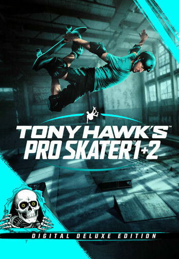 Tony Hawk's Pro Skater 1 + 2  - Digital Deluxe Edition (Nintendo Switch) eShop Key UNITED STATES