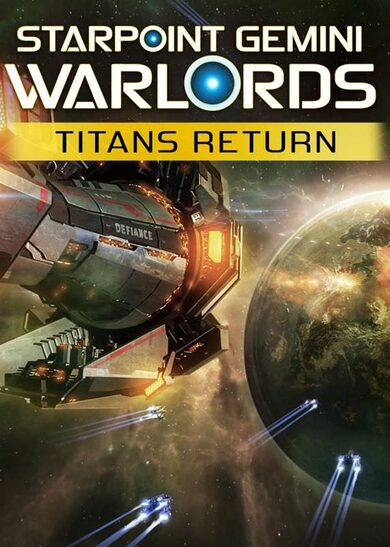 Starpoint Gemini Warlords - Titans Return (DLC) Steam Key EUROPE