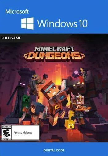 Minecraft Dungeons - Windows 10 Store Key EUROPE