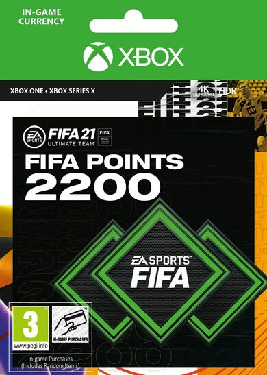FIFA 21 - 2200 FUT Points (Xbox One) Xbox Live código Global