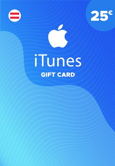 Apple iTunes Gift Card 25 EUR iTunes Key AUSTRIA