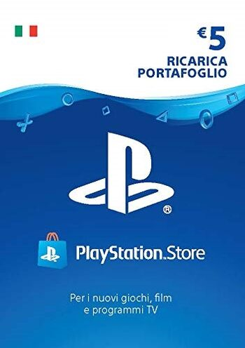 PlayStation Network Card 5 EUR (IT) PSN Key ITALY