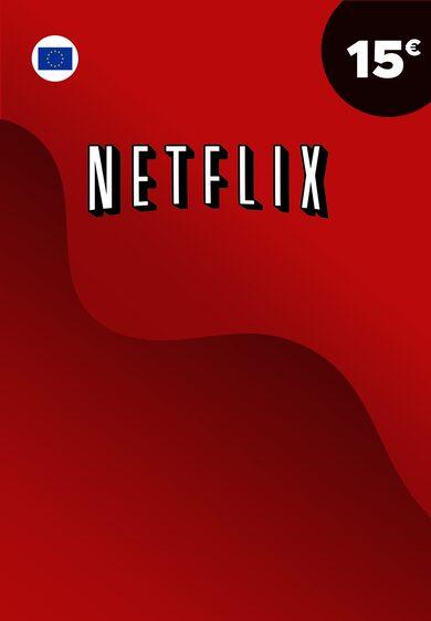 Netflix karte 15 EUR Key EUROPE