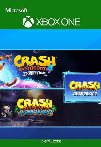 Crash Bandicoot - Quadrilogy Bundle XBOX LIVE Key UNITED STATES