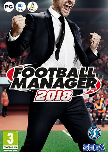 Football Manager 2018 Steam Key EUROPE