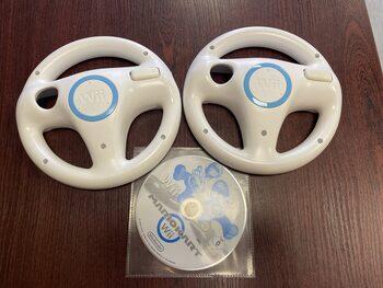 Nintendo Wii WiiU Wheel, du originalūs vairai su Mario Kart žaidimu V18