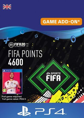 FIFA 20 - 4600 FUT Points (PS4) PSN Key UNITED KINGDOM
