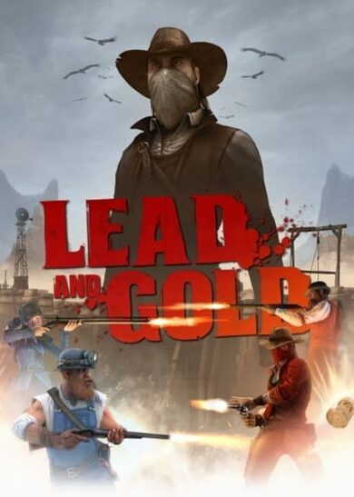 Lead and Gold: Gang of the Wild West Steam Key GLOBAL фото
