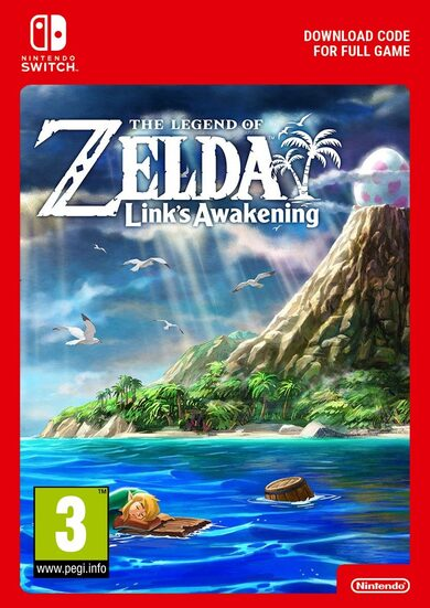 The Legend of Zelda: Link's Awakening (Nintendo Switch) eShop Clave EUROPA