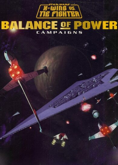 Star Wars: X-Wing vs Tie Fighter: Balance of Power Campaigns Steam Key EUROPE