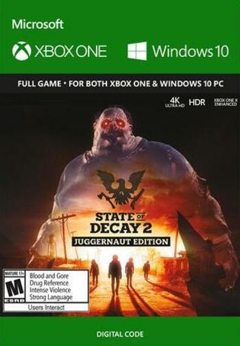 State of Decay 2: Juggernaut Edition (PC/Xbox One) Xbox Live Key GLOBAL