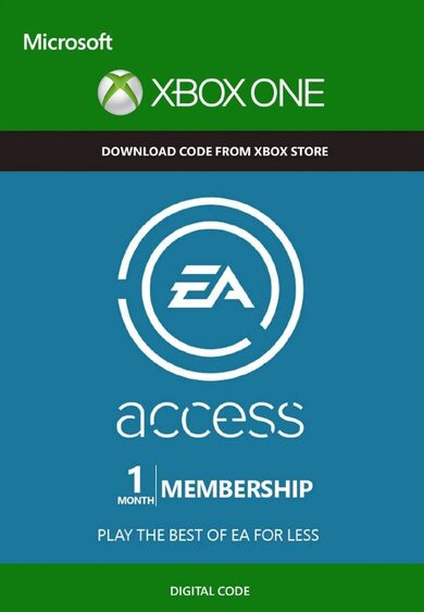 EA Acess Pass 1 Mes TRIAL Xbox One Código Xbox GLOBAL