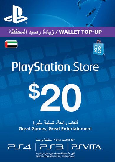 PlayStation Network Card 20 USD (UAE) key