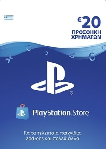 PlayStation Network Card 20 EUR (GR) PSN Key GREECE
