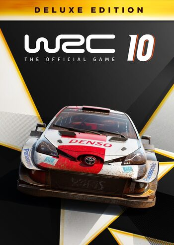 WRC 10 FIA World Rally Championship Deluxe Edition Steam Key GLOBAL