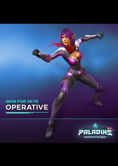 Paladins - Skye Hero + Operative Skin Key GLOBAL