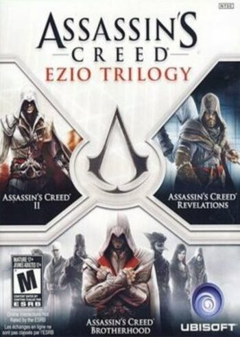 Assassin's Creed - Ezio Trilogy Uplay Key EUROPE