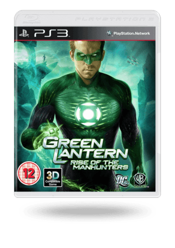 Green Lantern: Rise of the Manhunters PlayStation 3