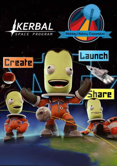 Kerbal Space Program: Making History (DLC) Steam Key GLOBAL