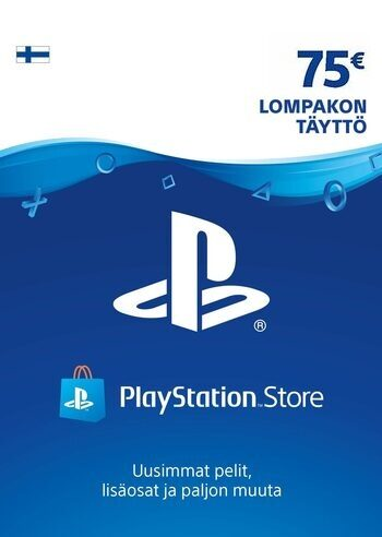 PlayStation Network Card 75 EUR (FIN) PSN Key FINLAND