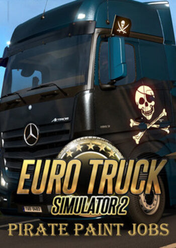 Euro Truck Simulator 2 - Pirate Paint Jobs Pack (DLC) Steam Key GLOBAL