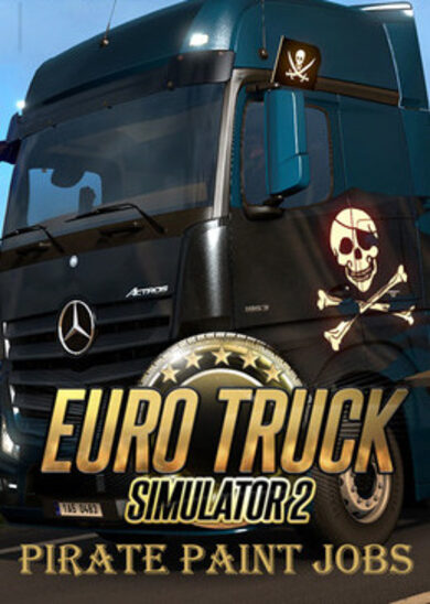 Euro Truck Simulator 2 - Pirate Paint Jobs Pack (DLC) Steam Key EUROPE