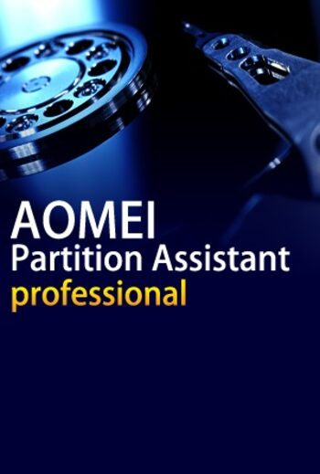 AOMEI Partition Assistant Professional + Free Lifetime Upgrades 2 Devices Lifetime Key GLOBAL