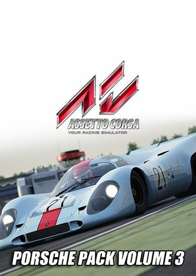 Assetto Corsa - Porsche Pack III (DLC) Steam Key GLOBAL